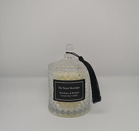 The Scent Boutique, Clear Diamond Geo Candle