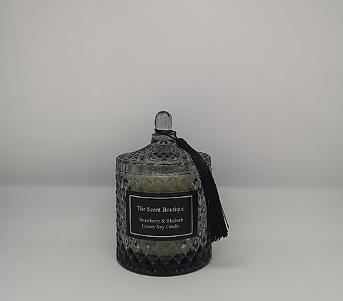 The Scent Boutique, Smoked Diamond Geo Candle