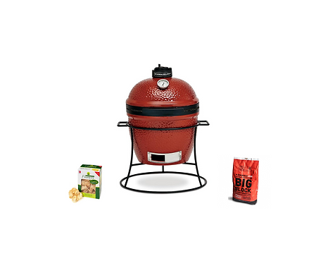 Kamado Joe, Joe Jr. with cast stand, FREE CHARCOAL