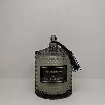 The Scent Boutique, Smoked Raindrop Geo Candle