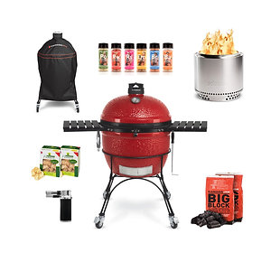 KAMADO JOE BIG JOE II, SOLO STOVE BUNDLE
