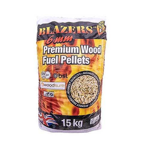 Blazer Wood Pellets 15kg Bag