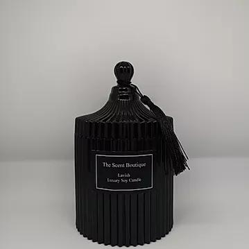 The Scent Boutique, Large Vintage Black Candle
