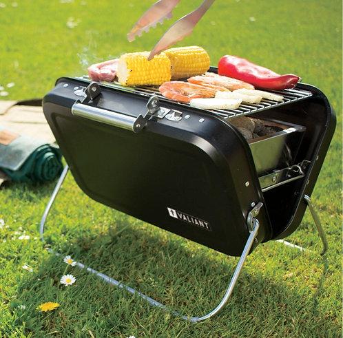 Valiant Nomad portable BBQ, utensils, cookware and starter kit.