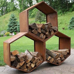 Heta Hexagon Wood Storage (one Hexagon)