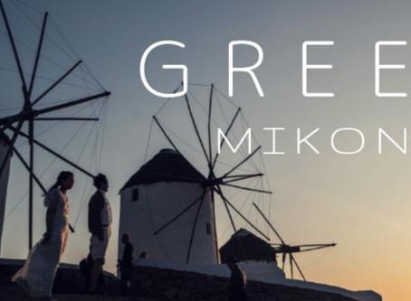旅行も楽しめるギリシャでフォトウェディングinミコノス島