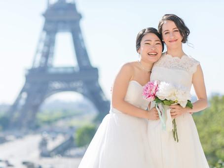 PARISで Wedding photo✨ LGBT編