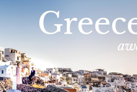 一度は行ってみたいギリシャでフォトウェディングinサントリーニ島