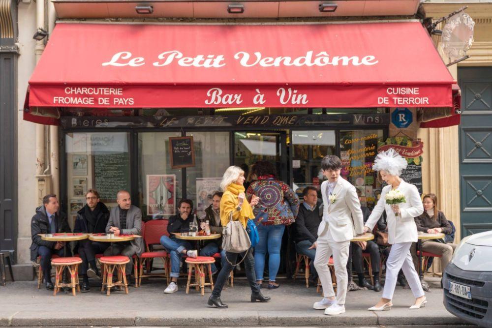 wedding paris パリ ウェディング ヘアメイク