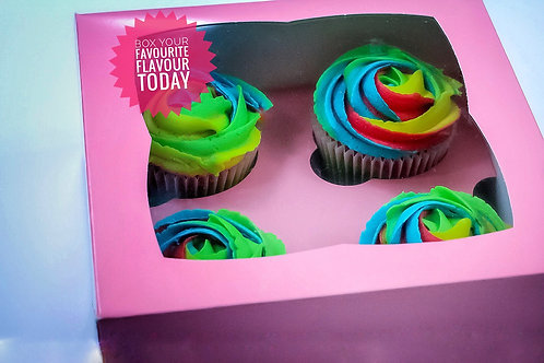Mixed Selection Cupcakes-Box of 25