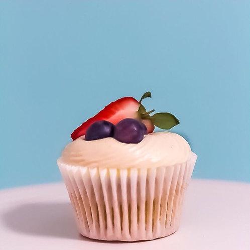 Vanilla Bean Swirl Calorie Less Cupcake- Box of 12