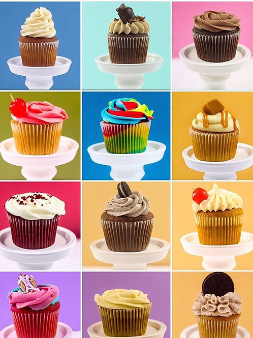 Vegan Cupcakes-Box of 16