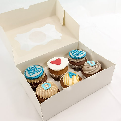 Personalised Celebration Cupcakes-BOX OF 25