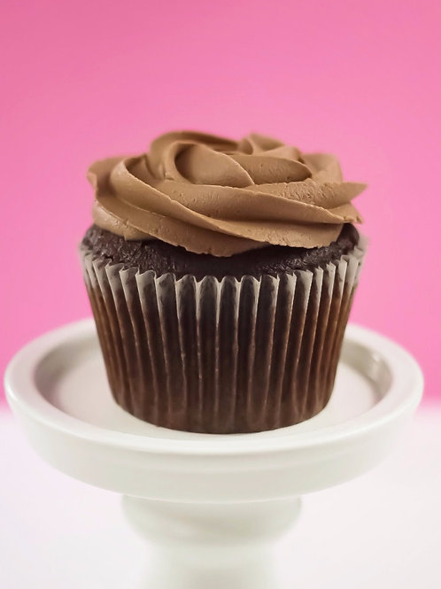 Classic Chocolate Cupcakes - Box of 12