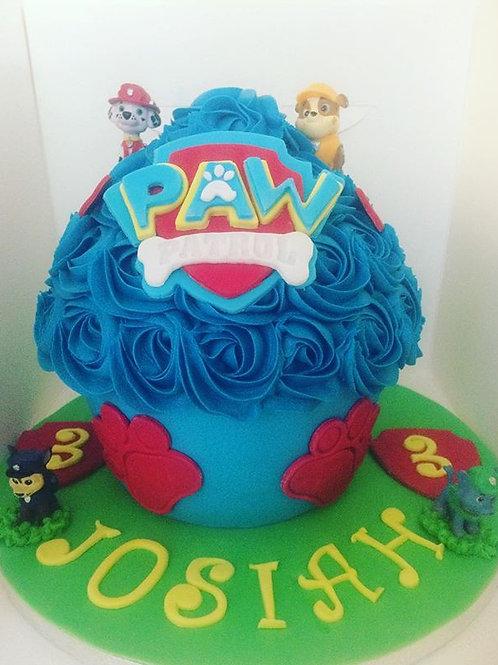 Giant Red Velvet Cupcake