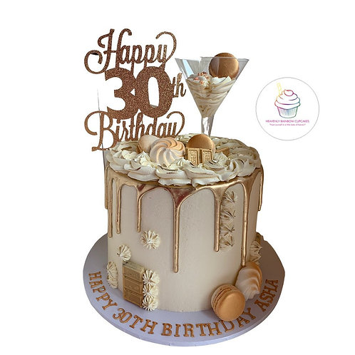 Deluxe Drip Cake Package 1
