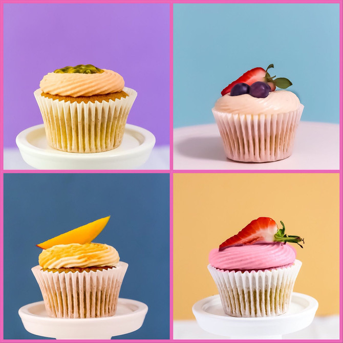 New! Calorie Less Vegan Cupcakes