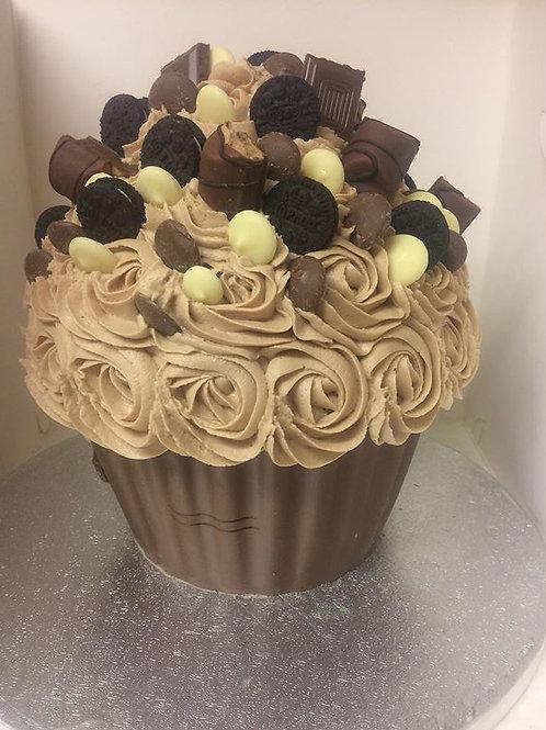 Giant Oreo Cupcake