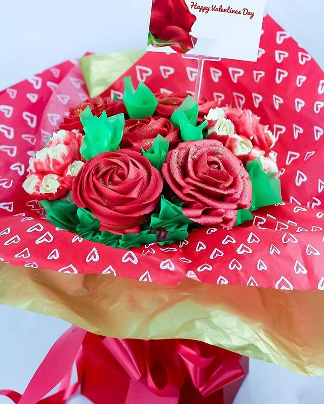 Valentine's Day Cupcake Bouquet £25.00!