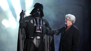 George Lucas y Darth Vader, el paralelismo de dos íconos
