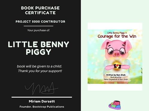 Little Benny Piggy-Project 5000