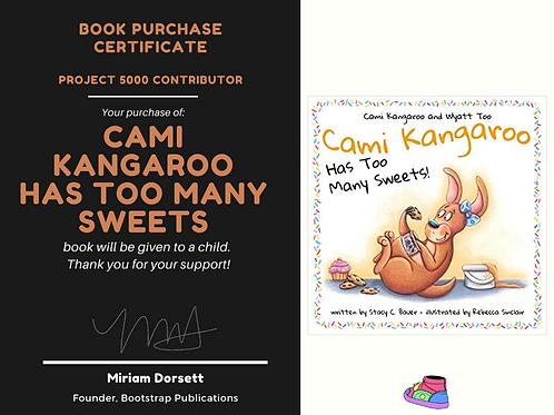 Cami Kangaroo Has Too many Sweets-Project 5000