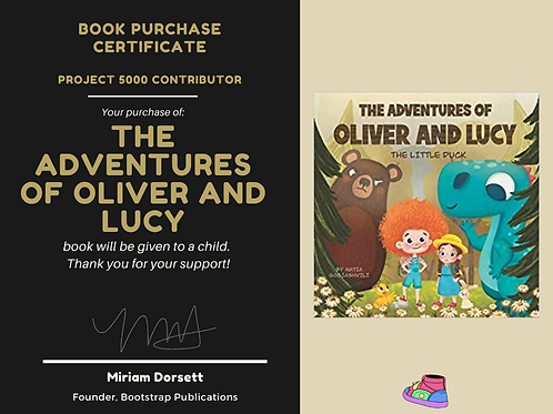 The Adventures of Oliver and Lucy By: Natia Gogiashvili- Project 5000