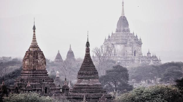 tempels myanmar bagan