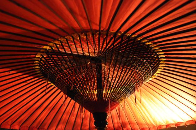Japan Kyoto parasol