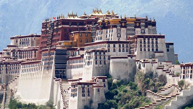 potala paleis lhasa tibet
