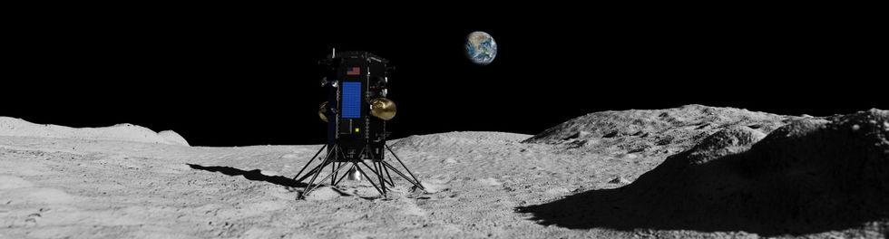 IM-1 Moonscape