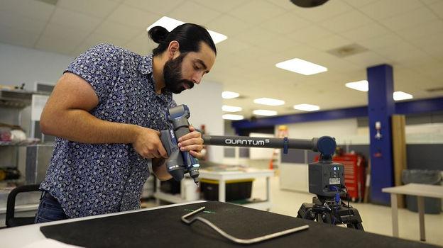 FARO Arm Verifing Propulsion Plumbing 21
