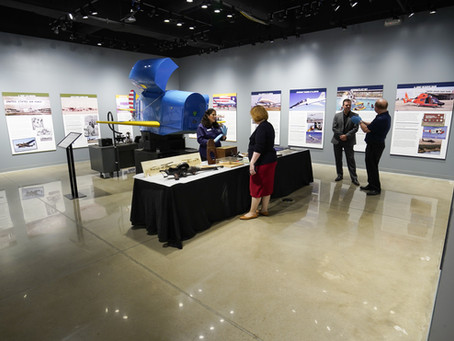 Intuitive Machines Honored in Ellington Airport: Gateway to Space Exhibit