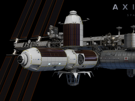 Intuitive Machines Teams With Axiom Space for Construction of Commercial Space Station On ISS