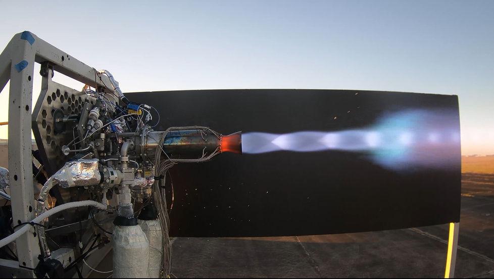 Hot Fire 37 Main Engine Testing