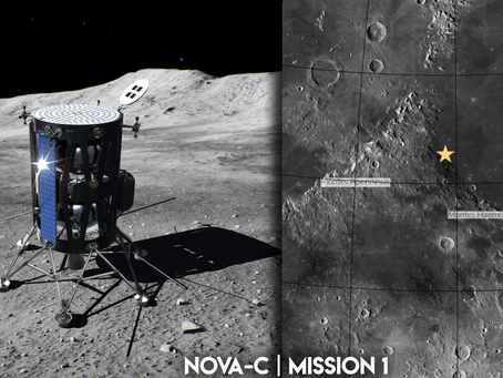 NASA Selects Intuitive Machines for Robotic Return to the Moon in 2021