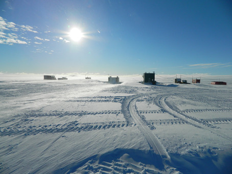 Unmanned In Antartica