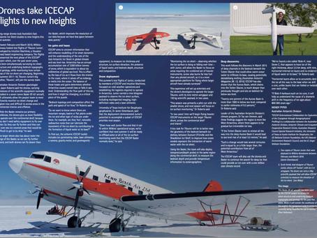 Featured In Australian Antarctic Magazine