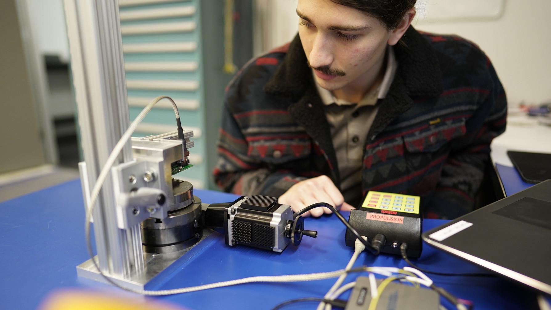 Gimbal Ring Encoder Calibration