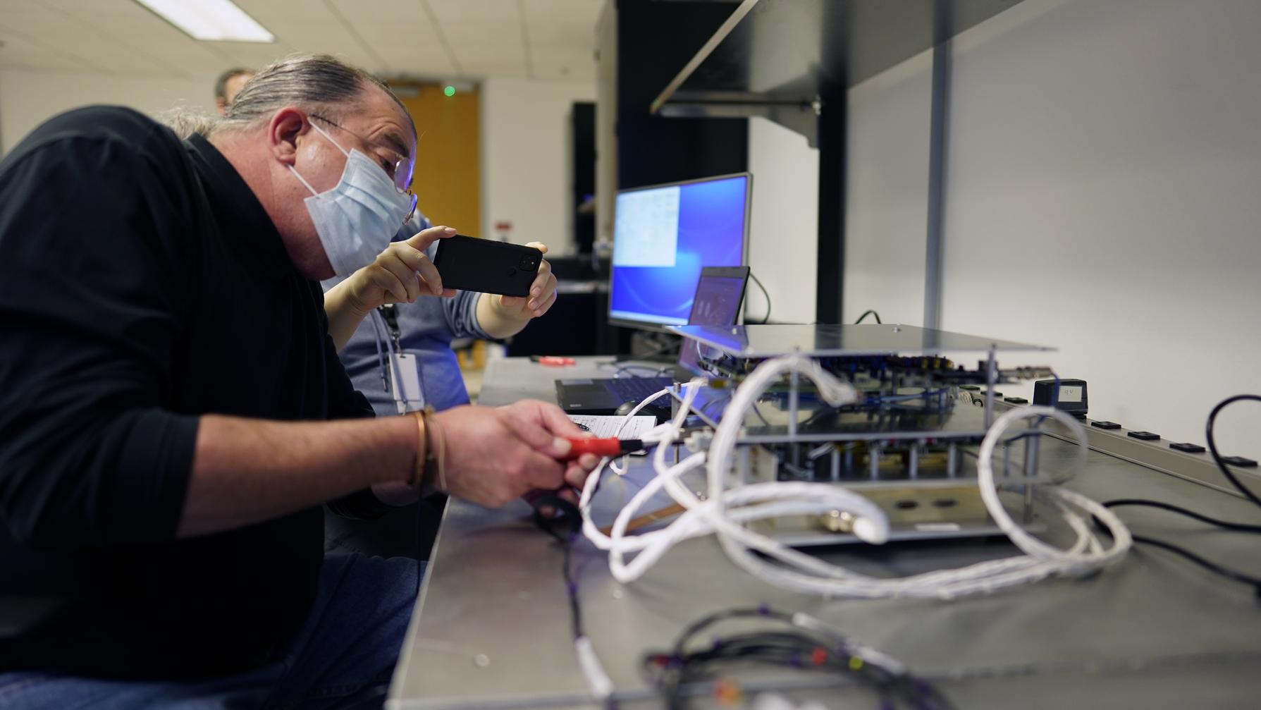 NASA Payload ROLSES Integration Testing