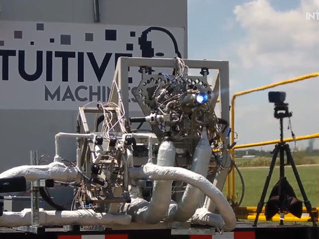 Nova-C Main Engine Test Keeps Houston in the Moon Race