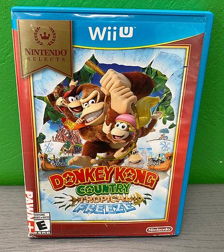 Wii U Game Donkey Kong Country Tropical Freeze- St George