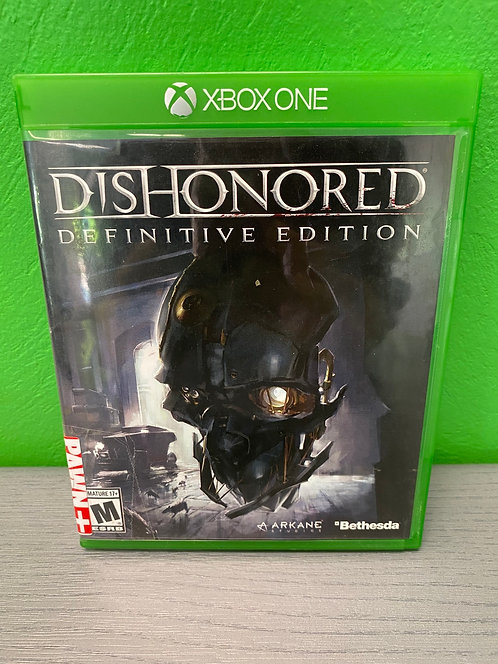 Xbox One Game Dishonored Definitive Edition - St George
