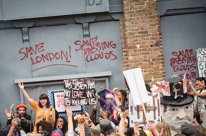 """""""HACKNEY COUNCIL HELPS PASSING CLOUDS FIGHT CLOSURE"""""""