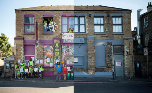 """""""PASSING CLOUDS: PLANS SUBMITTED TO REOPEN DALSTON ARTS HUB AS MUSIC VENUE"""""""