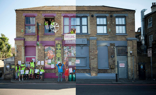 """PASSING CLOUDS: PLANS SUBMITTED TO REOPEN DALSTON ARTS HUB AS MUSIC VENUE"""