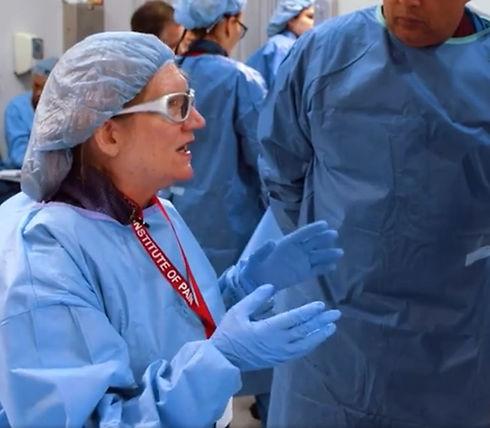 Dr. Andrea Trescot teaching the benefits