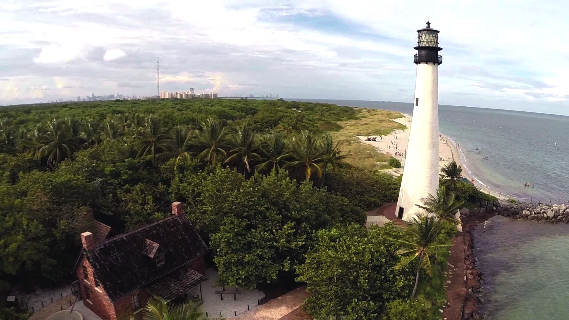 Cape Florida Lighthouse After Work