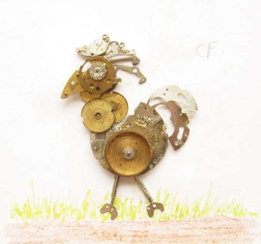 Stoptick art Chicken