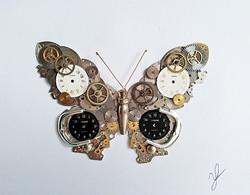 Stoptick art Butterfly